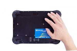 10.1 inch NFC rugged windows tablet