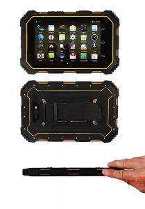 Super slim ruggedized tablet