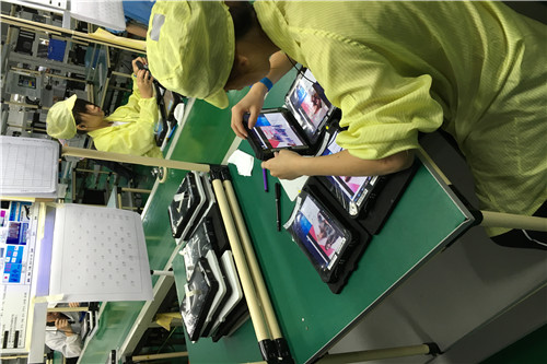 2d barcode windows tablet factory