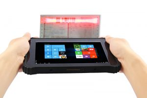 8 inch 2d barcode rugged tablet