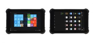 8 inch windows and android rugged tablet