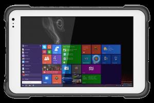 8 inch windows rugged tablet W2h