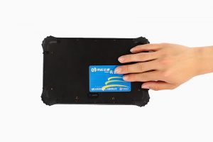 NFC Windows ruggedized tablet