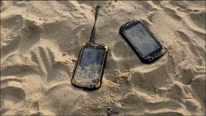 Dustproof rugged phone