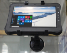 Vehicle mount for  Industrial Windows Tablet RuggedT W1H