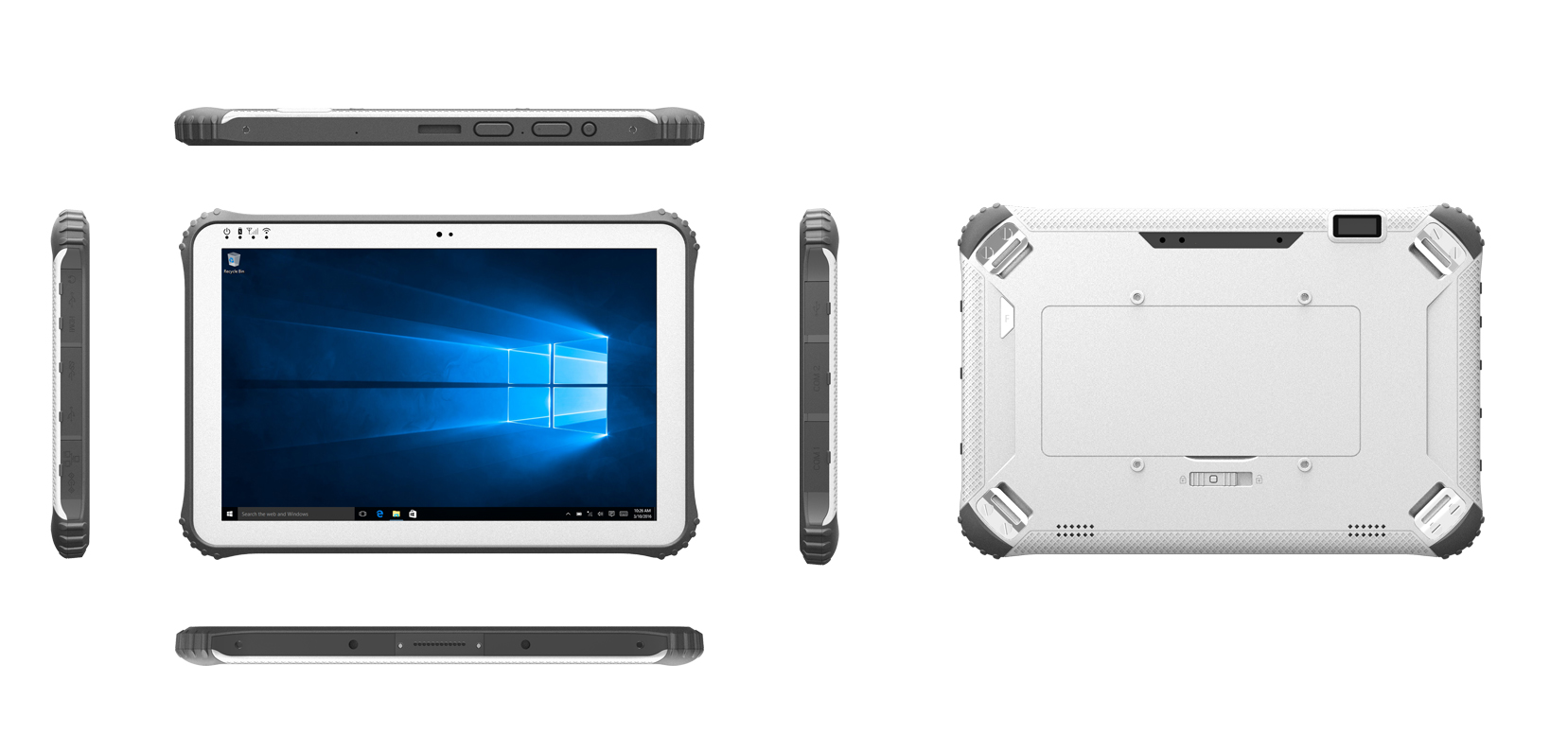 Windows 10 / Anroid 5.1 rugged tablet