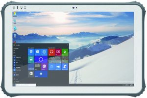 12.2 inch windows industrial tablet
