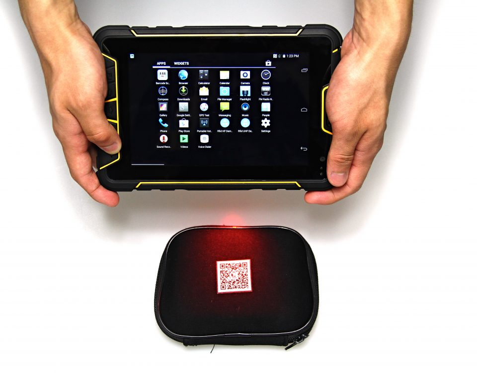 rugged tablet scanner