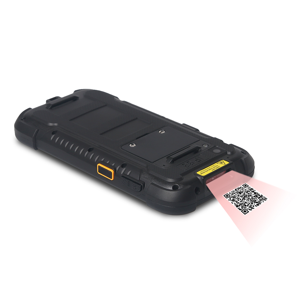 Waterproof computer RuggedT H6 is equipped with Honeywell N6605 Barcode Reader