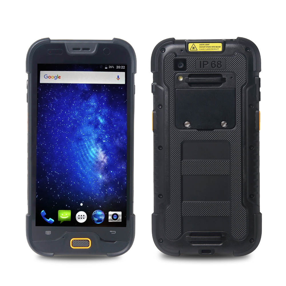 Handheld Scanner RuggedT H6 front and back look