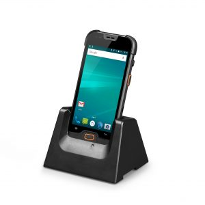 Docking station for rugged mobile computer
