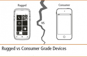 Consumer tablet VS rugged tablet