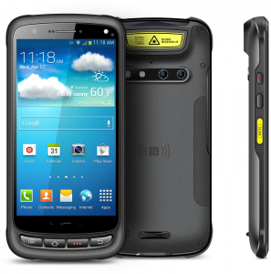 Handheld Windows PC Rugged H1 front and side look