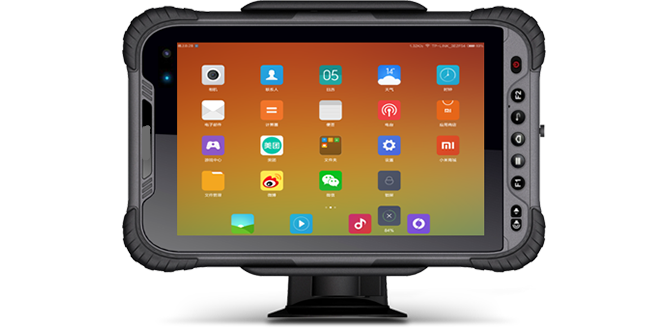 Shockproof tablet RuggedT T5s with stand