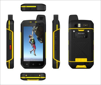 RuggedT S2 military grade cell phone from different angles