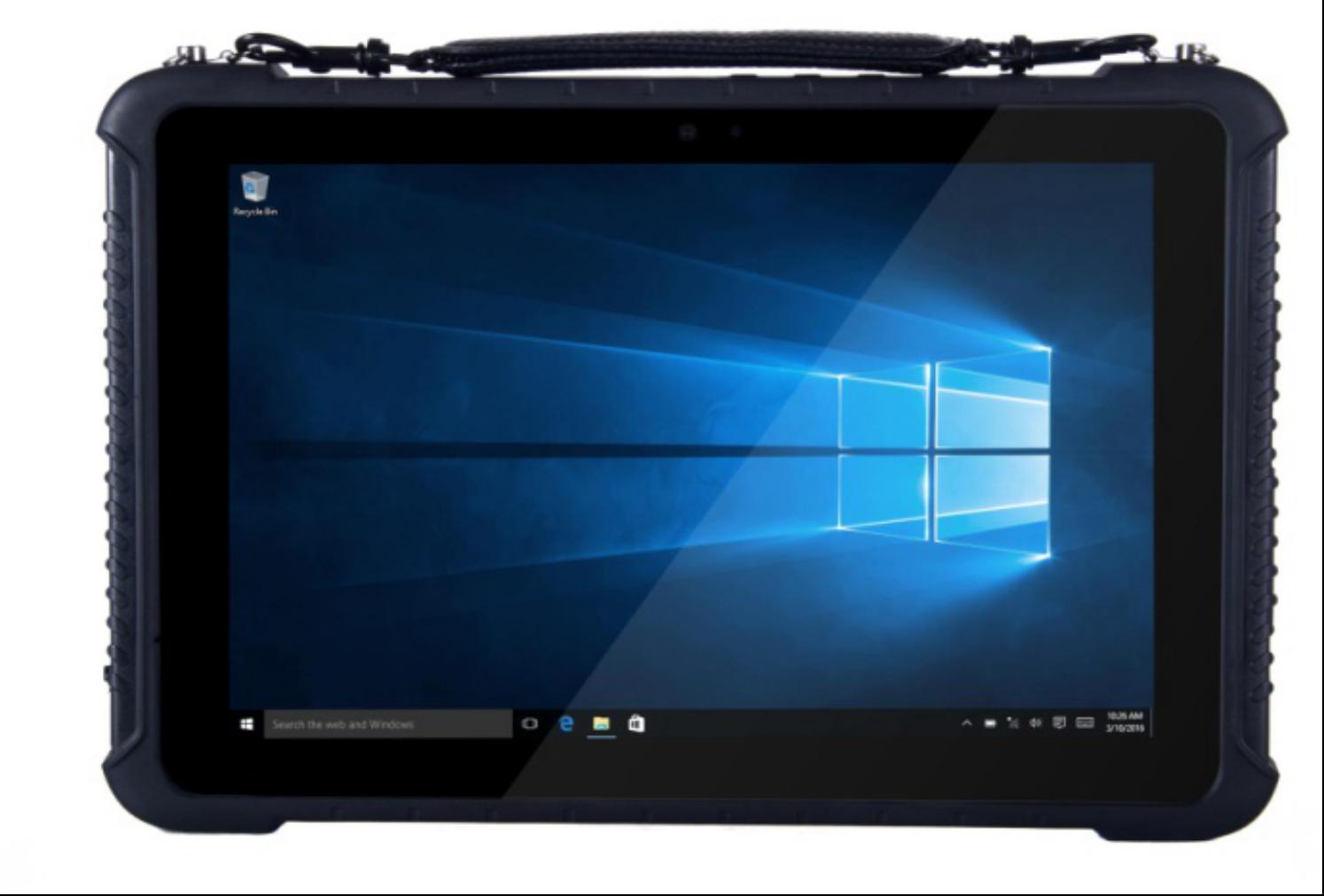 10.1 inch Industrial Windows Tablet RuggedT W1K