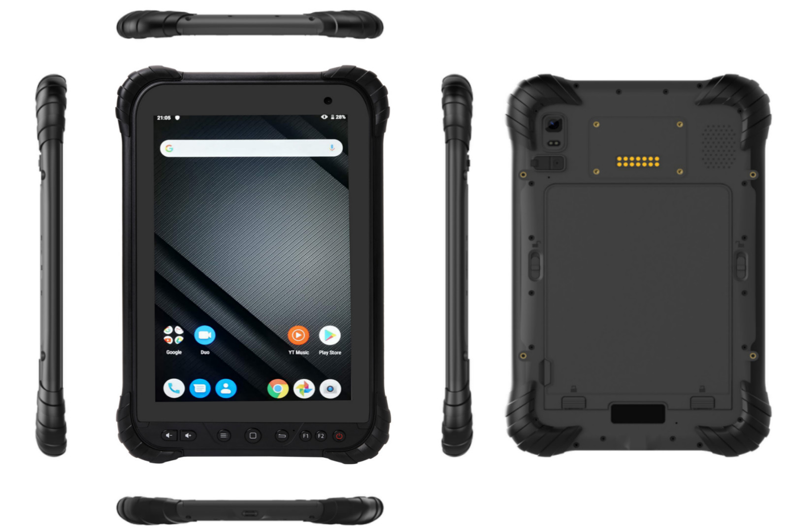 Cheap rugged tablet RuggedT T5 with powerful CPU